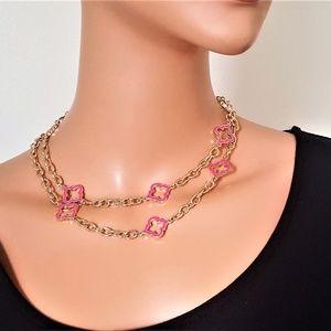 Vera Bradley Long Emblem Necklace
